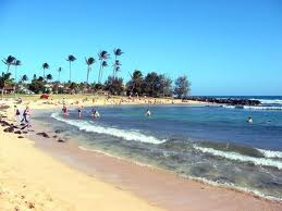 One of the best beaches on Kauai, Poipu Beach Park